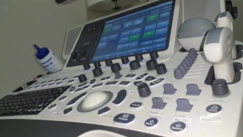 Ultrasound Machine Close Up
